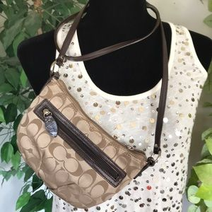 Mini Coach Crossbody Handbag